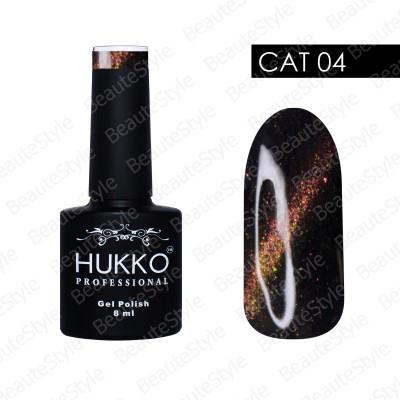 Гель-лак Hukko CAT №04 8мл