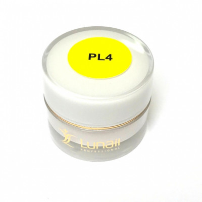 3D пластилин Lunail желтый PL4 (5 гр)