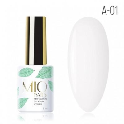 Гель-лак A-01. Первый снег Mio Nails