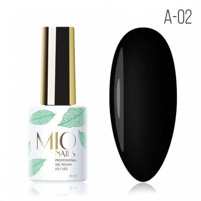 Гель-лак A-02. Черная жемчужина Mio Nails