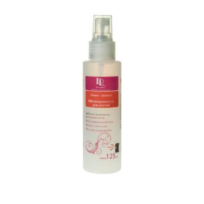 Обезжириватель для ногтей с  распылителем - 125 мл Cleaner - sanitizer