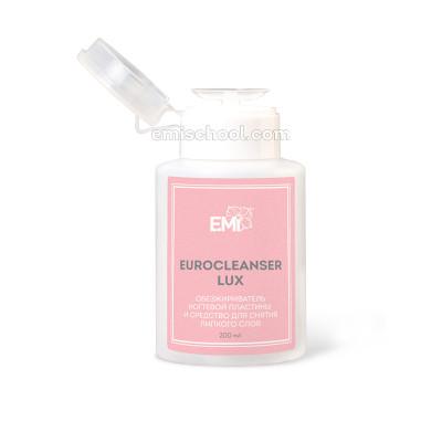 Eurocleanser LUX: обезжириватель ногтевой пластины и средство для снятия липкого слоя 200 мл.