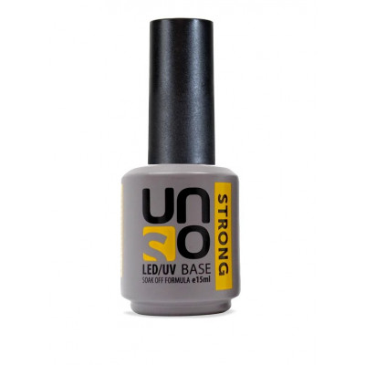 UNO, Базовое покрытие для гель-лака STRONG, 15 мл.
