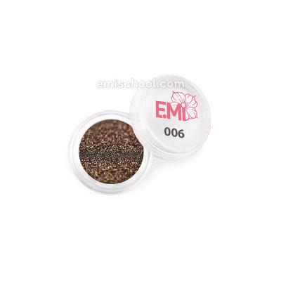 Пыль однотонная Металлик №006