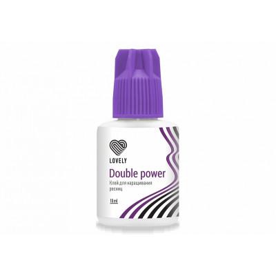 """Клей чёрный Lovely """"Double Power"""", 10мл"""